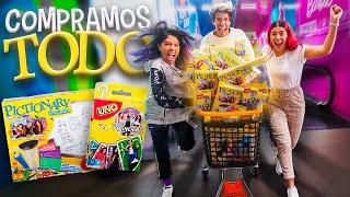COMPRAMOS TODOS NUESTROS JUEGOS DE MESA DEL SUPERMERCADO | POLINESIOS VLOGS