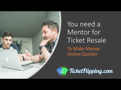 1 Million Dollars In Tickets Sold In 5 Month: Why You Need A Mentor To Make Money Reselling Tickets