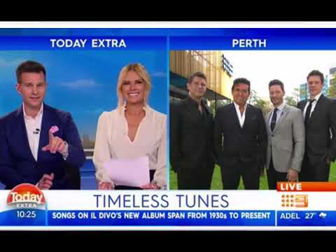 IL DIVO Interview Perth, Australia 15102018