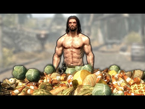 How much TOTAL FOOD is in Whiterun? (Skyrim)