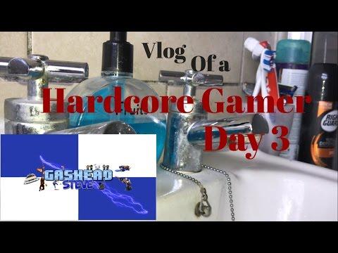 Hardcore Gamer  - Vlog Day 3 - Gears Of War 4