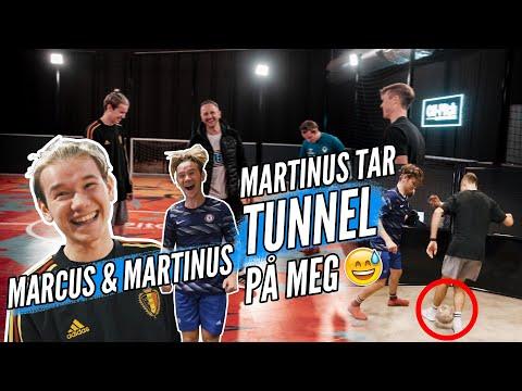 Fotball med Marcus og Martinus på Oslo Street Fotballsenter + STOR  GIVEAWAY ⚽️🤩