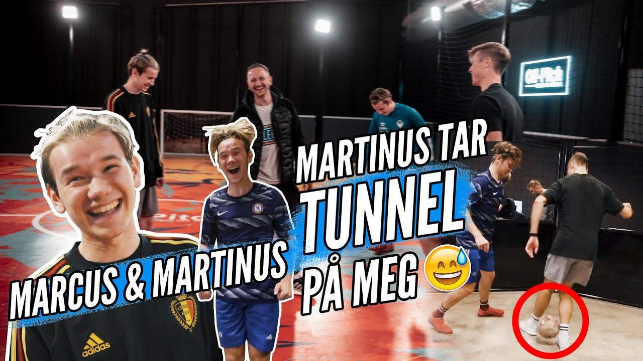 Fotball med Marcus og Martinus på Oslo Street Fotballsenter