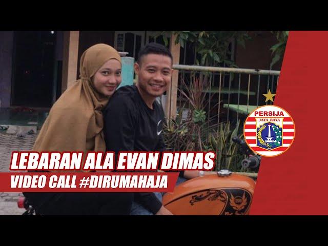 Video Call Lebaran Bersama Evan Dimas Darmono