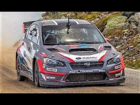 600Hp Subaru Impreza WRX STi    Travis Pastrana World Record - Mount Washington 2017