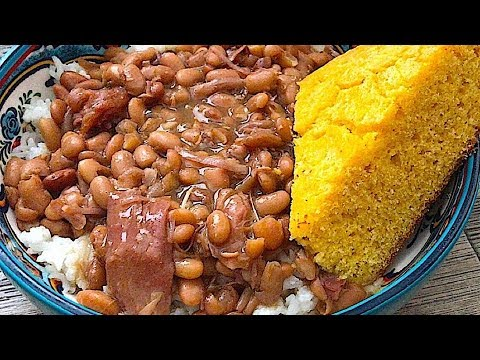 Southern Style Pinto Beans Recipe Slow & Easy | SLOW COOKER PINTO BEANS | SURVIVAL MEALS