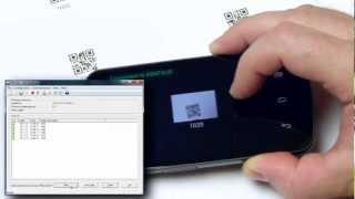 Беспроводной сканер штрихкодов для PC или Mac(http://tec-it.com -- Из этого видео Вы узнаете, как сделать из Вашего Android смартфона ручной Bluetooth-сканер штрихкодов...., 2013-02-06T09:01:29.000Z)