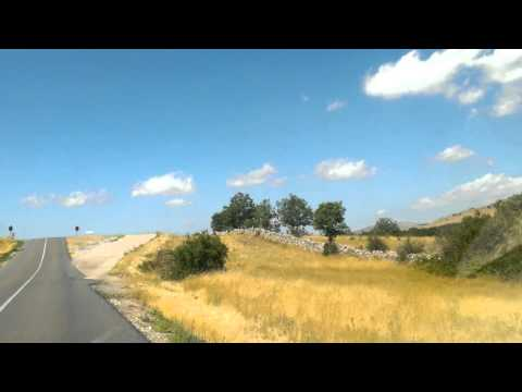 Roadtrippin' in Castilla y Leon province, Spain  - quiet hilly road