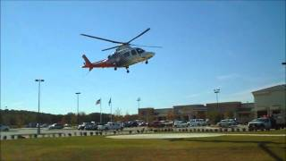 CareFlite A109 Takeoff