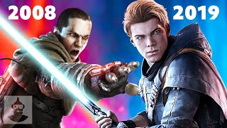 Jedi Fallen Order and the Star Wars Games That Preceded It