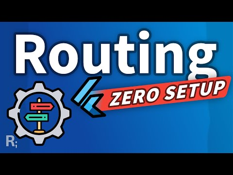 Flutter ZERO Boilerplate Router with Auto Route – Flutter Navigation Tutorial