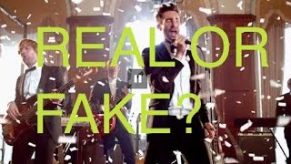 Maroon 5 | Sugar Video: Real Or Fake?