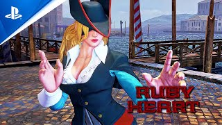 Street Fighter V - Ruby Heart Costume DLC | PS4
