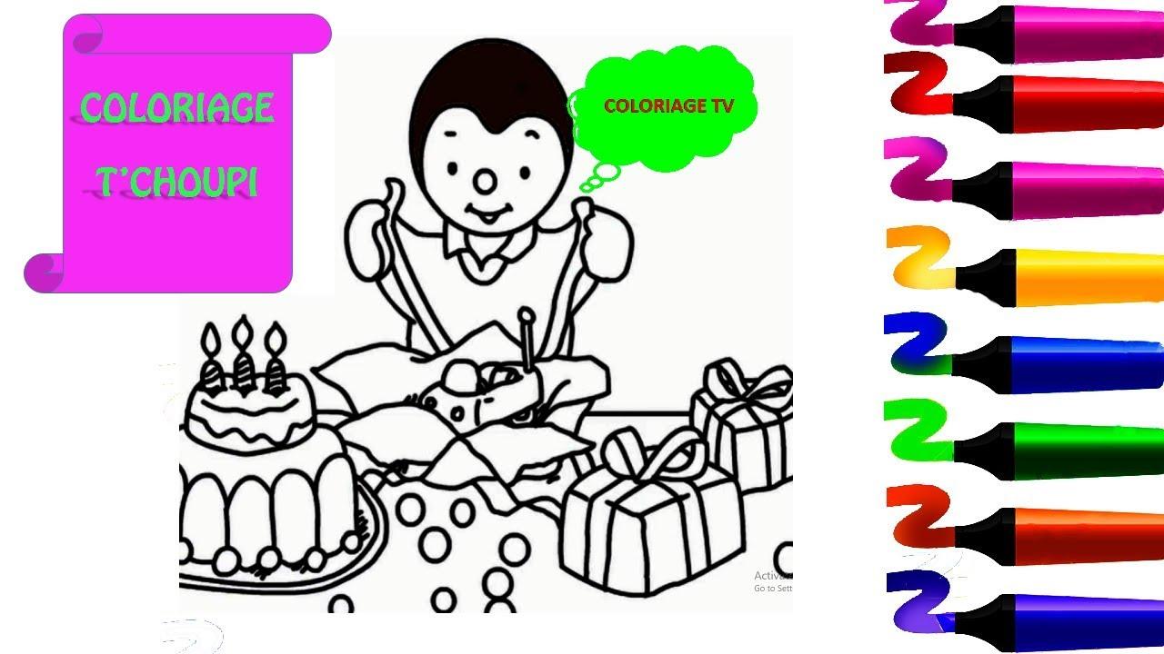 Tchoupi et doudou tchoupi l cole coloriage tchoupi et doudou fete son anniversaire youtube - Tchoupi tchoupi ...