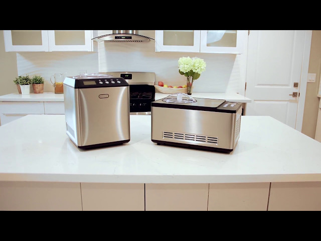 Whynter Compressor Ice Cream Makers Featuring Models ICM-200LS and ICM-201SB