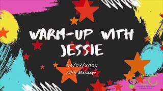 Warm-up with Jessie