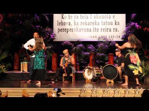 Te Tama Maohi Live @ the 2014 Ori Fest - Las Vegas
