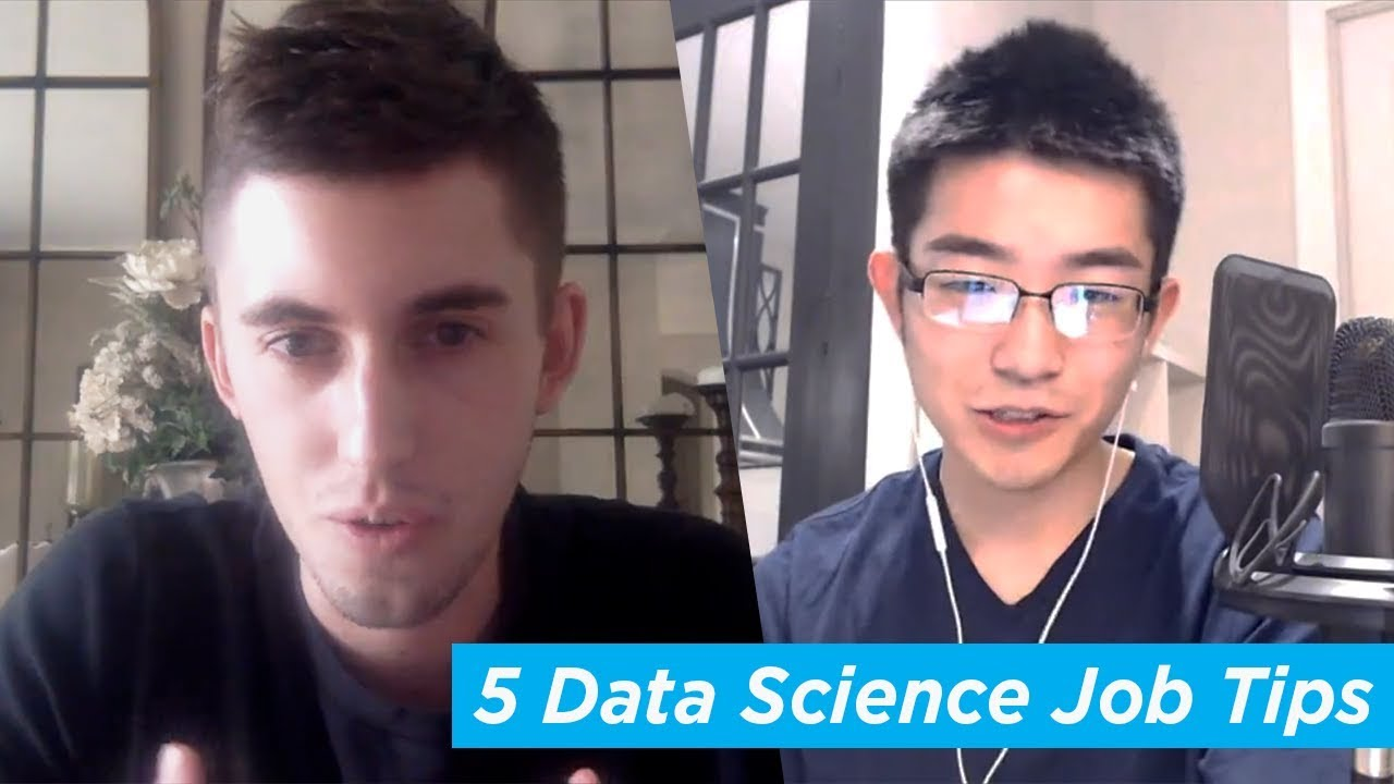 5 Tips for Getting a Data Science Job [INTERVIEW]
