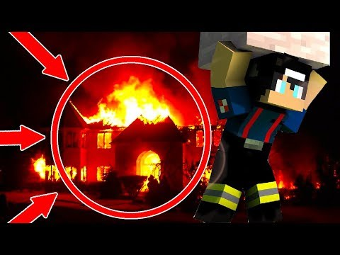 RAVEN IS TRICKED INTO A BURNING FIRE TO SAVE LITTLE KELLY | Minecraft ROYAL FAMILY