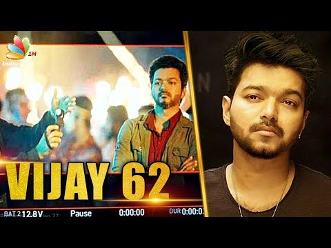 Vijay sporting a super stylish look for thalapathy 62 | AR Murugadoss