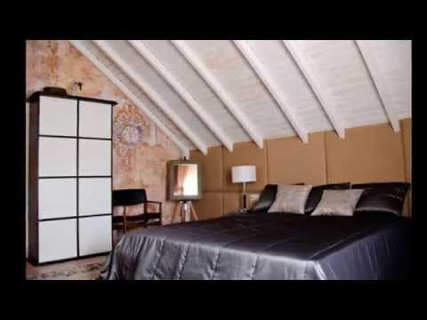 Дизайн спальной комнаты в мансарде 17 кв. м