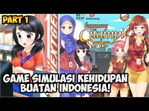Gebetan Gue Kasir Indomaret - Citampi Stories OFFLINE Games Part 1 (Android/iOS)