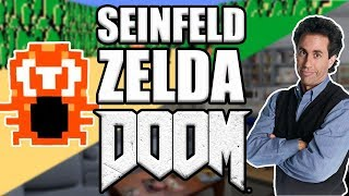 Seinfeld and Zelda Doom Mods - Mike and Tony (Mike Matei Live)