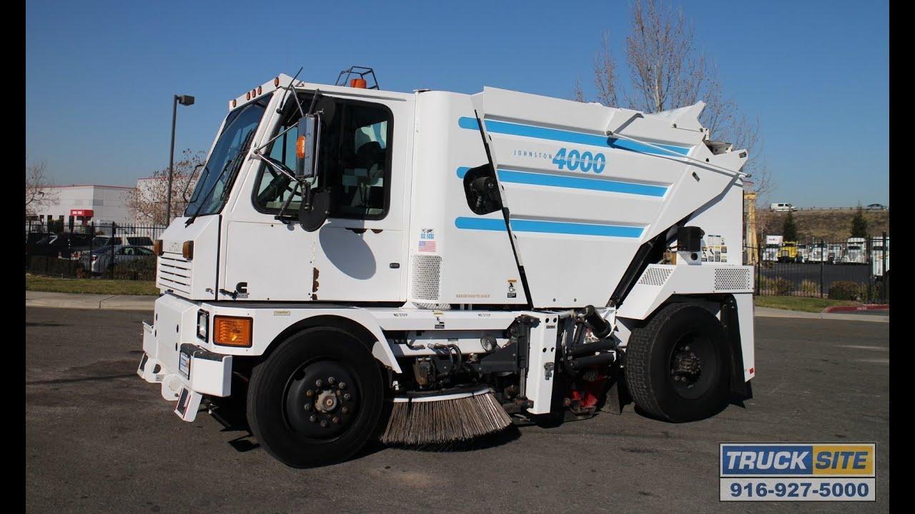 2005 Johnston 4000 Mechanical Broom Street Sweeper For