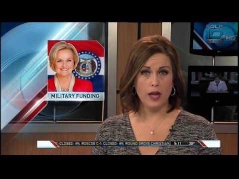 KOLR: McCaskill questions Gen. Mattis, invites him to visit MO Military installations