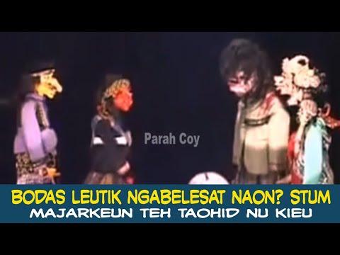 Cepot Adu Tarucing - Wayang Bobodoran