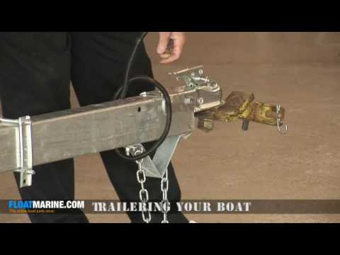 Boat Parts - How To Trailer Your Boat