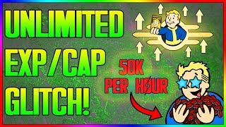 �������� ���� Fallout 76 - NEW UNLIMITED EXP & CAP GLITCH! After Patch [50k Per Hour] (In Depth Tutorial) ������