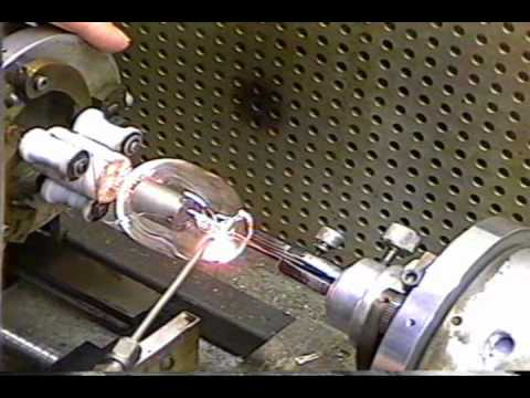 making a fleming diode vacuum tube 5