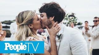 Kelsea Ballerini Morgan Evans Ended Wedding With Tequila Shots PeopleTV