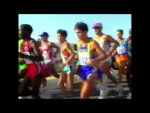 4155 Olympic Track & Field 1992 Marathon Men