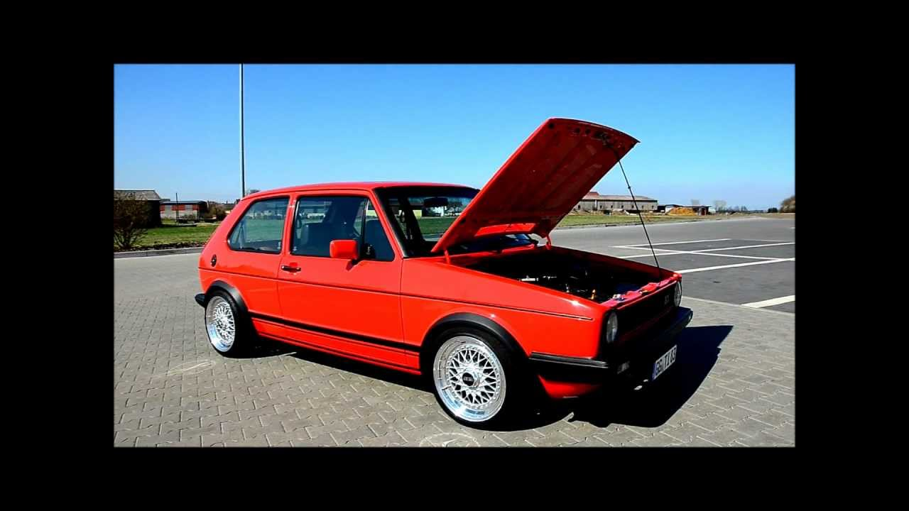 Golf 1 GTI 8V mit KJetronik  YouTube