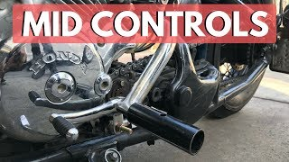 Mid Controls MOD for Honda Shadow VLX/VT600