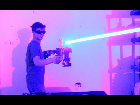 'Star Wars' Came To Life As YouTuber Created 40W Laser Shotgun