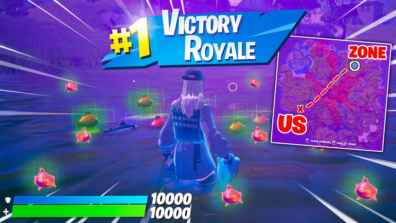 INFINITE WINS in Fortnite