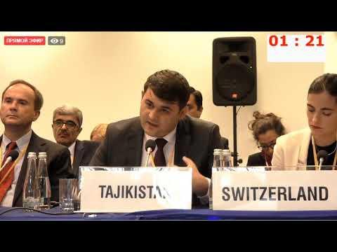 Картинки по запросу ВАРШАВА. ОБСЕ. 25.09.2019 - Выступление представителя Таджикистана Рустама Азизи