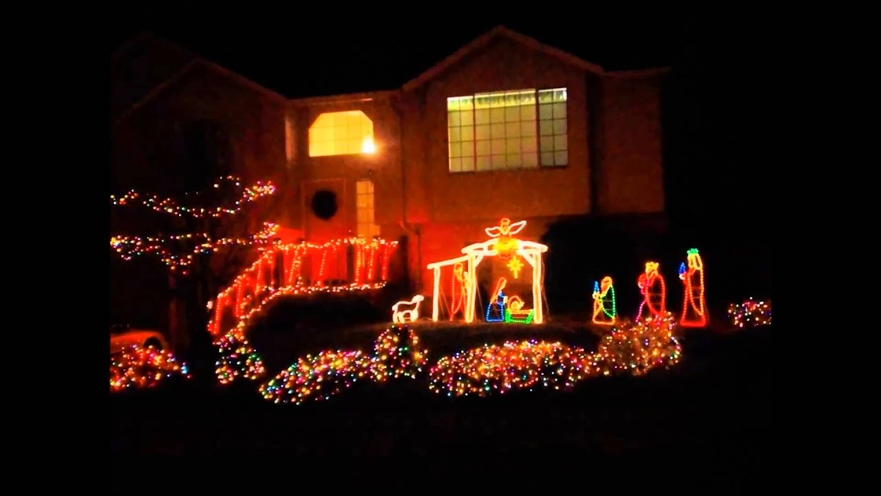Miracle Of Christmas Lights Keizer Oregon 2013 - YouTube