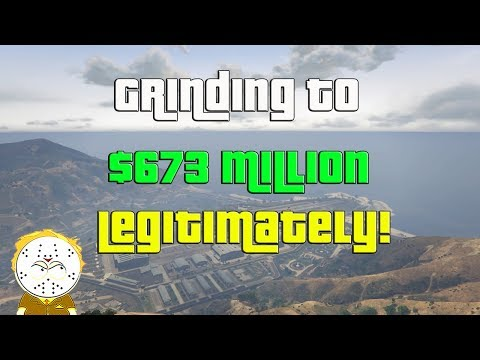 GTA Online Grinding To $673 Million Legitimately And Helping Subs