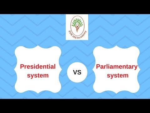 Polity - Presidential System VS Parliamentary system
