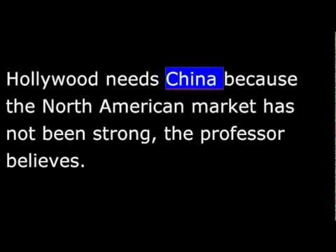 AS IT IS - China - Censuring Movies - 2 Feb 2013 - VOA News in Special English