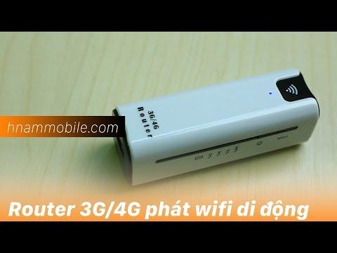 H-Channel | Router 3G/4G phát wifi di động nhỏ gọn.