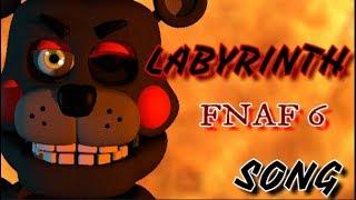 SFM FNAF FNAF6 SONG Labyrinth by CG5