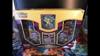 ULTRA NECROZMA GX BOX OPENING!!