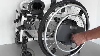 QUICKIE WheelDrive - Radmontage