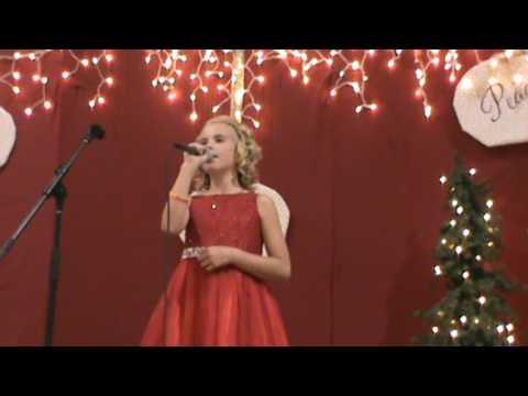 Emma Cramer singing Happy Birthday Jesus