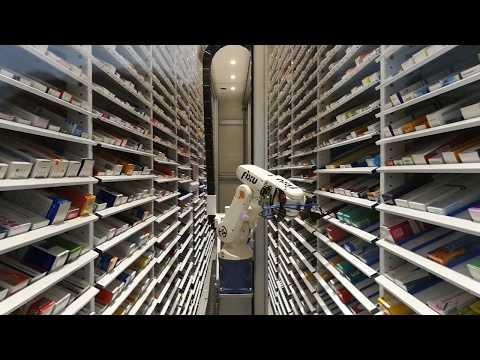 Робот ИСО-Фиксу в аптеке Самсон-Фарма